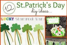 St. Patrick's Day / All the green recipes, decorations and crafts you'll need for St. Patrick's Day / by Tara {A Spectacled Owl}