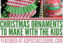 Christmas / Christmas recipes, decor, decorations, homemade gifts, Christmas crafts, printables / by Tara {A Spectacled Owl}