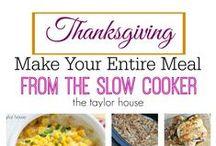 Thanksgiving / Thanksgiving centerpieces, table decorations, decor, turkey recipes, side dish recipes, dessert recipes & printables