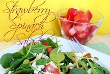 Salad Recipes / Salads - side dishes, main course salads, jello salad and more