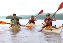 Kayaking / Explore the breathtaking views in Dutchess County from the hull of a kayak! There are many sites to find kayak and paddleboard rentals, tours, and instruction for the novice to the experienced paddler.