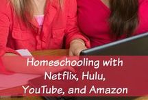 Homeschooling With Netflix / Ways you can use Netflix (educational movies, shows & documentaries) in your homeschooling / by Tara {A Spectacled Owl}