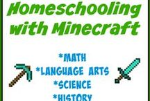 Homeschooling with Minecraft / Lots of Printables, Math, Language Arts and much more for using Minecraft in your Homeschooling / by Tara {A Spectacled Owl}