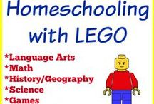 Homeschooling with Legos / Homeschooling is fun. Legos are fun. Why not combine the two for LOTS of fun? / by Tara {A Spectacled Owl}