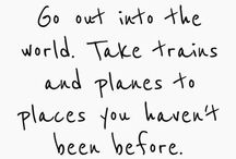 Wanderlust / Travel, bucket list, wandering, meandering, globe trekking / by Raquel Gonzalez