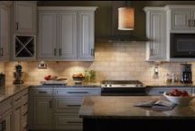 COOKING {light} / Finding beauty in kitchen design. / by Legrand