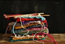 Textiles: knitted / knits, crochet, woven creations, a little lace +  I'm slowly going through this board and sorting crochet, lace and woven to separate boards.