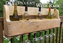 Pallets recycled/upcycled/repurposed / upcycled/recycled creative ways to use wood pallets / by Christina Budd