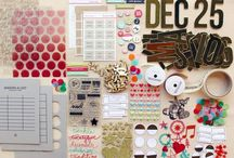 december daily / inspiration + ideas for Ali Edwards annual December / holiday documenting project