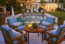 OUTDOOR {oasis} / Dreaming about a beautiful place to relax outside. / by Legrand