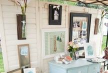 Craft Items Displaying In Booths / Ways to displaying craft items in booths / by Christina Budd