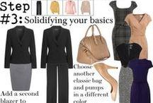 Cloths Barn / Style Essentials; Working Wardrobe; Closet Organization / by ymknight