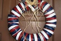 Patriotic Spirit: 4th of July & Memorial Day / Patriotic decor, crafts and foods for 4th of July and Memorial Day / by Christina Budd