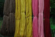 Textiles: dyed