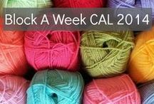 CROCHET CAL Block a Week 2014 / Mystery Afghan Crochet-along / by ymknight