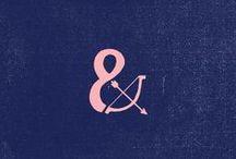 Ampersand & / by BrownPaper Packaging