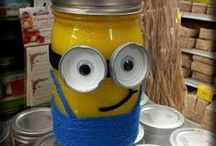 Glass: Mason Jars recycled/upcycled/repurposed / mason jars recycled/upcycled/repurposed / by Christina Budd