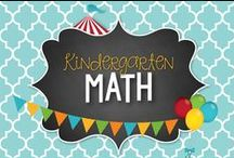 Kinder Math / Kindergarten Guided Math and Math Tubs