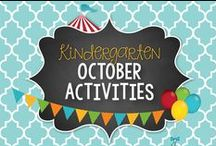 October Kinder Activities & Centers
