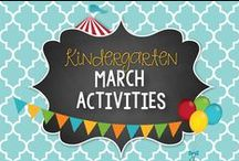 March Kinder Activities & Centers