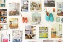 o f f i c e s p a c e  / Ideal spaces, shelving, stationery, and other items that inspire me to design.