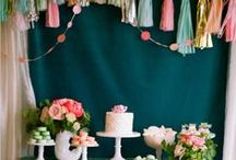 events | candy + dessert bar / by Ashdown & Bee