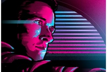 Movie / Game / Music / TV posters / by Tom Sulley
