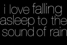 Rain/Lightning / i love to fall asleep to the sounds of thunder and the cracks of lightning / by Nadine Hupp