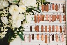 wedding  |  table numbers / by Ashdown & Bee