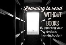 Reading / Learning to read, the importance of reading together and overcoming reading struggles.