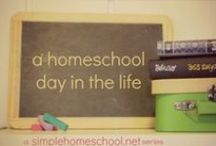 Homeschool Day in the Life / A real-life look at homeschooling from a variety of perspectives.