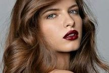 Red & oxblood lips