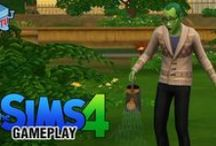 The Sims Gameplay / The Sims 4 and The Sims 4 Gameplay and Trailers / by COIN-OP TV