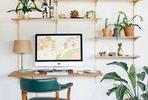 Déco Bureau / Le bureau est un espace de travail. Autant s'y sentir à l'aise. pour cela, je vous propose une sélection de bureaux déco pour vous donner des idées afin de créer un espace studieux des plus confortable.