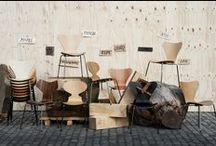 Chaise / Fauteuil / Canapé / Tabouret / Banc / Les chaises ne sont pas seulement essentielles ! Elles sont aussi déco, design, colorées, peuvent prendre des formes classiques ou originales. Découvrez la sélection.