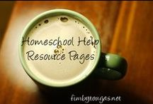 Favorite Homeschool Resources / The things we use, love and recommend.
