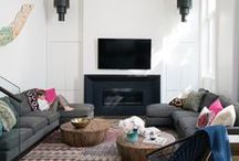 Living Room Design & Decorating Ideas / by House & Home