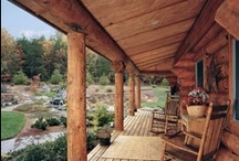 What my Log Cabins will look like and have in it.