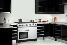 Contemporary Rangemaster Kitchens / Get inspiration for how Rangemaster's range cookers can fit seamlessly into cool contemporary kitchen schemes - banishing the age old adage that they are limited to traditional country homes!