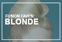 Fusion Faves: Blonde Bombshells / Do blondes really have more fun? These ladies seem to think so!