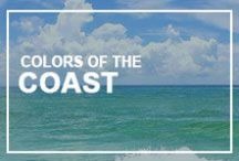 Colors of the Coast / We are constantly inspired by the array of natural colors found along our Gulf Coast as well as other beautiful beaches. What can we say...we have sand in our soul!