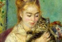 Gatti nell'arte / I #gatti spesso sono stati soggetti scelti da pittori e artisti per le loro opere...vediamoli!