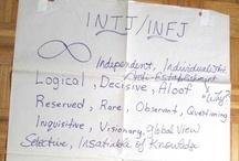 About Me:  INFJ ~ INTJ ~ ISTJ