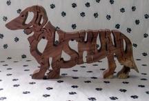 Animals:  Dachshunds