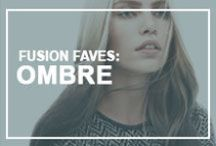 Fusion Faves: Ombre  / Thought the dip-dye trend was dead? Think again! If you want to keep the ombre trend going in to 2013, work with natural sun kissed sections through the lower lengths of your hair.