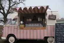 VW Kombi cafe food trucks / VW Kombi cafe food trucks