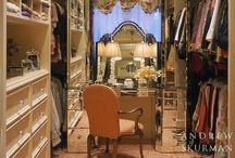 Dressing rooms to die for / Over the top girly, indulgence.