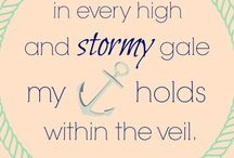 My Anchor Holds within the Veil
