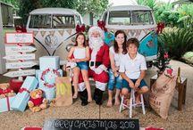 2015 Santa and his Kombi photography / 2015 #santa and his #Kombi portrait photography #santaphoto #santaportrait #santafamilyportrait #familyportrait