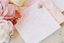 wedding invitations / the prettiest paper goods for your wedding / by Glamour & Grace